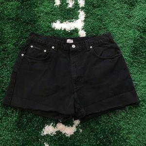 VTG Calvin Klein Cutoff Shorts - Black